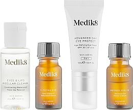 Set - Medik8 The CSA Philosophy Kit Eye Edition (serum/7ml + cr/15ml + serum/7ml + cleanser/30ml) — photo N2