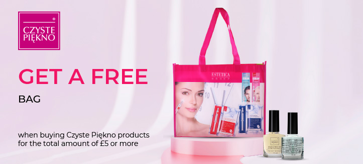 Get a free bag when buying Czyste Piękno products for the total amount of £5 or more