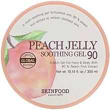 Fragrances, Perfumes, Cosmetics Body Gel - Skinfood Peach Jelly Soothing Gel
