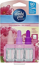 "Fragrances, Perfumes, Cosmetics Set ""Rose"" - Ambi Pur (refill/3x7ml)"