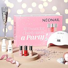 Fragrances, Perfumes, Cosmetics Set - NeoNail Professional Party Set (nail/polish/3x7.2 + led + nail/clean/50ml + rem/50ml + nail/wrarps/50pc + warstw/250pc + chopstick/10pc)