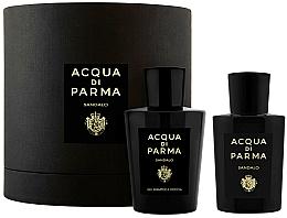 Fragrances, Perfumes, Cosmetics Acqua di Parma Sandalo - Set (edp/100ml+sh/gel/200ml)