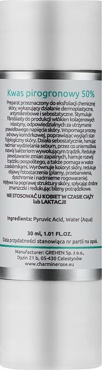 Pyruvic Acid - Charmine Rose Charm Medi Pyruvic Acid 50% — photo N2