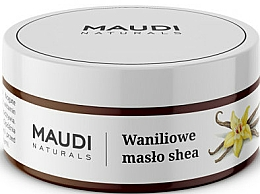 "Fragrances, Perfumes, Cosmetics Unrefined Shea Butter ""Vanilla"" - Maudi"
