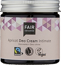 Fragrances, Perfumes, Cosmetics Deodoring Intimate Cream - Fair Squared Apricot Deo Cream Intimate