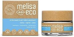 Fragrances, Perfumes, Cosmetics Ultra Moisturizing Soothing Face Cream - Melisa Eco