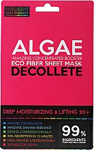 Fragrances, Perfumes, Cosmetics Express Decollete Mask - Beauty Face IST Deep Moisturizing & Lifting Decolette Mask Algae