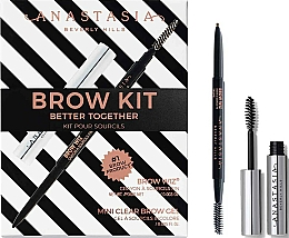 Fragrances, Perfumes, Cosmetics Set - Anastasia Beverly Hills Better Together Brow Kit Taupe (pencil/0.085g + gel/2.5ml)