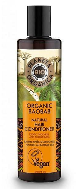 Strengthening Hair Balm - Planeta Organica Organic Baobab Natural Hair Conditioner