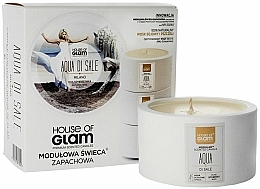 Fragrances, Perfumes, Cosmetics Scented Candle - House of Glam Aqua Di Sale Candle