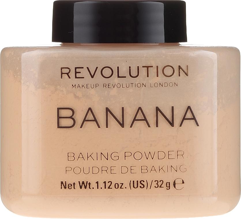 Face Powder - Makeup Revolution Banana Baking Powder