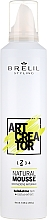Fragrances, Perfumes, Cosmetics Medium Hold Styling Mousse - Brelil Art Creator Natural Mousse