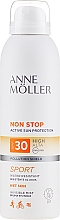 Fragrances, Perfumes, Cosmetics Sunscreen Body Spray - Anne Moller Non Stop Active Sun Invisible Mist SPF30