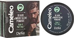 Fragrances, Perfumes, Cosmetics Beard Wax - Delia Cameleo Men Beard and Moustache Pomade