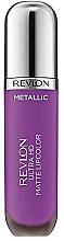 Fragrances, Perfumes, Cosmetics Matte Lip Gloss - Revlon Ultra HD Metallic Matte Lipcolor