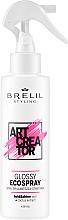 Fragrances, Perfumes, Cosmetics No-Gas Glossy Hair Spray - Brelil Art Creator Glossy Ecospray