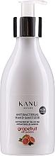 "Fragrances, Perfumes, Cosmetics Antibacterial Gel ""Grapefruit & Guarana"" - Kanu Nature Antibacterial Hand Sanitizer"