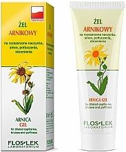 """Fragrances, Perfumes, Cosmetics Facial Gel """"Arnica"""" - Floslek Gel Arnica"""