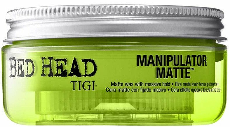 Matte Wax with Massive Hold - Tigi Manipulator Matte