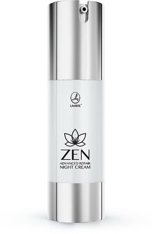 Intensive Repair Night Face Cream - Lambre Zen — photo N1