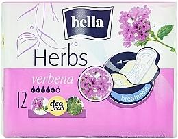 Fragrances, Perfumes, Cosmetics Pantiliners Panty Herbs Verbena, 12 pcs - Bella