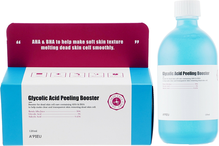 Glycolic Acid Peeling Booster - A'pieu Glycolic Acid Peeling Booster — photo N1