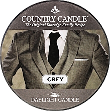 Fragrances, Perfumes, Cosmetics Tea Light Candle - Country Candle Grey Daylight