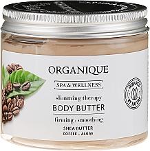 Fragrances, Perfumes, Cosmetics Anti-Cellulite Body Oil - Organique Spa Therapie Coffee Body Butter