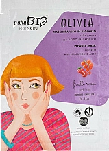 "Fragrances, Perfumes, Cosmetics Alginate Mask ""Red Fruits"" - PuroBio Cosmetics Olivia Powder Mask Oily Skin"