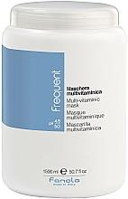 Fragrances, Perfumes, Cosmetics Multi-Vitaminic Hair Mask - Fanola Frequent Multi Vitamin Mask