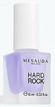 Fragrances, Perfumes, Cosmetics Base & Top Coat Nail Polish - Mesauda Milano Hard Rock Nail Hardening Base Coat 118