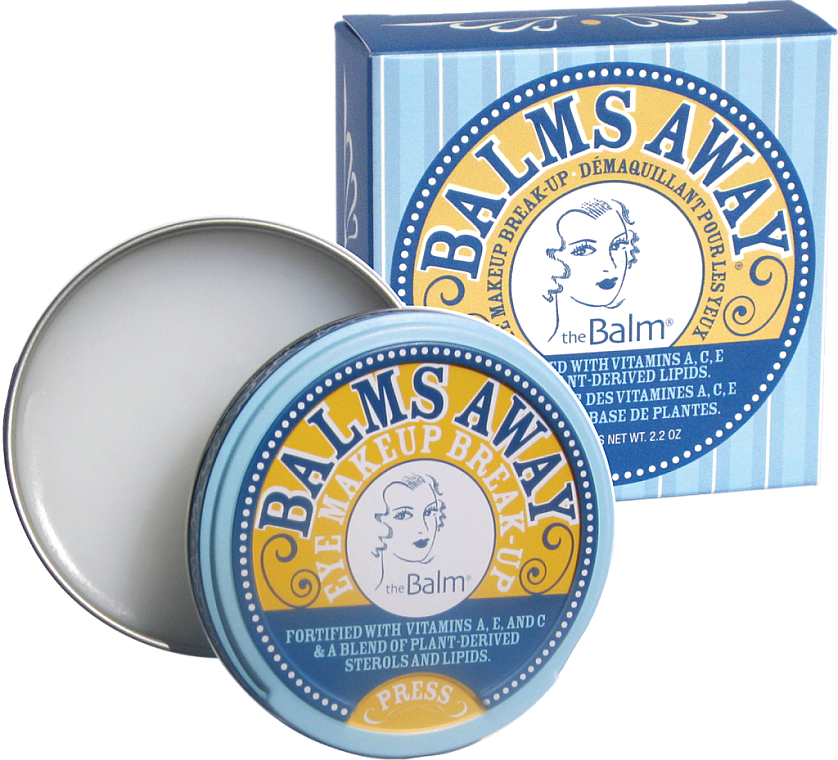 Waterproof Makeup & False Lashes Remover - TheBalm Balms Away Eye Makeup Break-Up