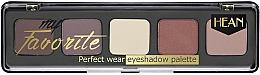 Fragrances, Perfumes, Cosmetics Eyeshadow Palette - Hean My favorite Eye Shadow Palette