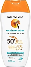 Fragrances, Perfumes, Cosmetics Protective Emulsion for Sensitive Skin - Kolastyna Sensitive Skin SPF50
