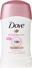 Fragrances, Perfumes, Cosmetics Antiperspirant Stick - Dove Invisible Care Floral Touch Deodorant Stick