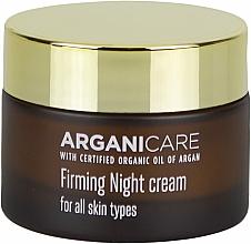 Fragrances, Perfumes, Cosmetics Strengthening Face Night Cream - Arganicare Shea Butter Firming Night Cream