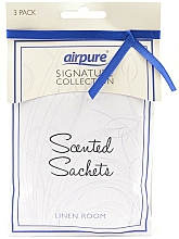 """Fragrances, Perfumes, Cosmetics Scented Sachet """"Freshness"""" - Airpure Scented Sachets Linen Room"""