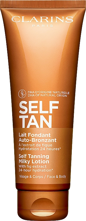 Moisturizing Self Tanning Lotion - Clarins Self Tanning Milky Lotion — photo N1