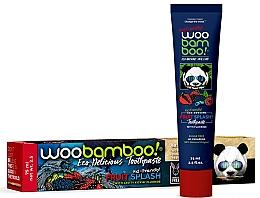 "Fragrances, Perfumes, Cosmetics Fluoride Toothpaste ""Fruit Splash"" - Woobamboo Fruit Splash Toothpaste With Fluoride"