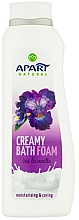 Fragrances, Perfumes, Cosmetics Iris & Vanilla Bath Foam - Apart Natural Body Care Bath Foam