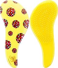 Fragrances, Perfumes, Cosmetics Detangling Brush - KayPro Dtangler The Mini Brush Yellow