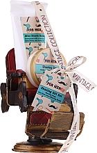 Fragrances, Perfumes, Cosmetics Set - Pokhara For Men Vintage Shaving Gift Set (shav/soap/50g + shav/balm/150ml + shav/brush/1pc + acc)