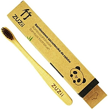 Fragrances, Perfumes, Cosmetics Kids Soft Brown Toothbrush - Zuzii Kids Soft Toothbrush