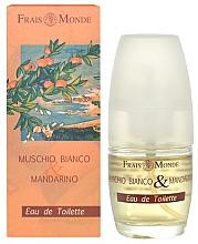 Fragrances, Perfumes, Cosmetics Frais Monde White Musk And Mandarin Orange - Eau de Toilette