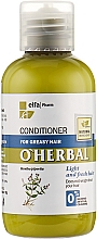 Fragrances, Perfumes, Cosmetics Mint Extract Oily Hair Conditioner - O'Herbal