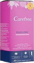 Fragrances, Perfumes, Cosmetics Hygienic Daily Pads, 40pcs - Carefree Plus Long