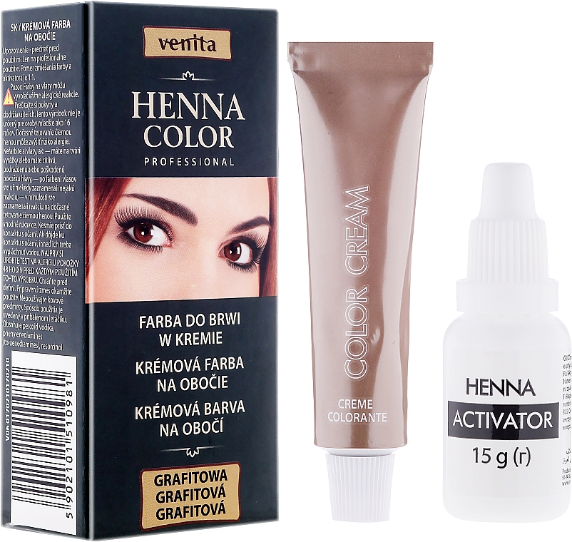 Brow Cream-Henna - Venita Henna Color