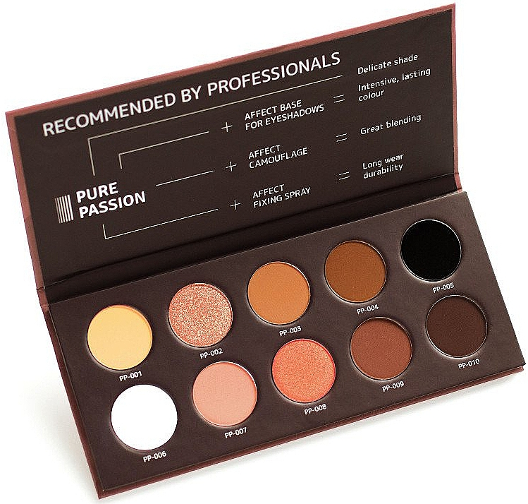 Pressed Eyeshadow Palette - Affect Cosmetics Pure Passion Eyeshadow Palette