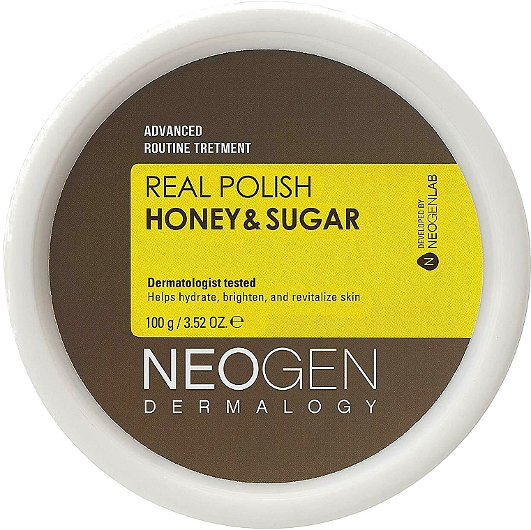 Face Scrub - Neogen Dermalogy Real Polish Honey & Sugar — photo N1