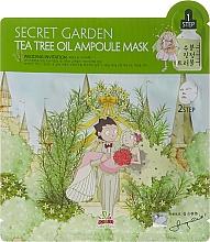 Fragrances, Perfumes, Cosmetics Tea Tree Two-Phase Sheet Face Mask - Sally's Box Secret Garden Tea Tree Oil Ampoule Mask